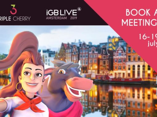 Triple Cherry in iGB LiVE Amsterdam 2019