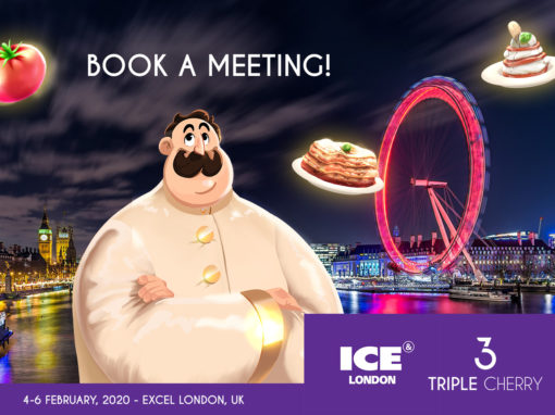 Book a meeting with Triple Cherry at ICE London 2020