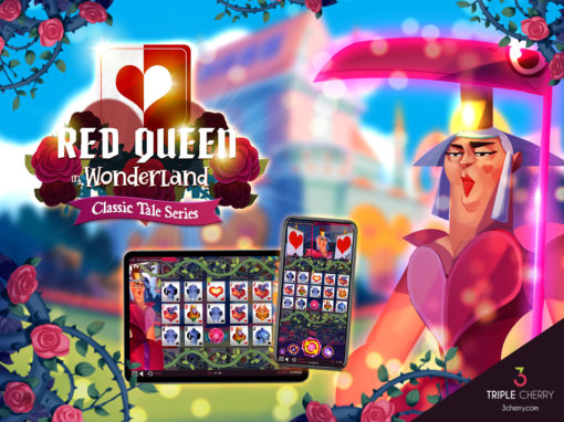 Feel the power of the cards in Red Queen in Wonderland