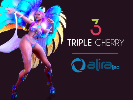 Integration of Triple Cherry's games in Alira