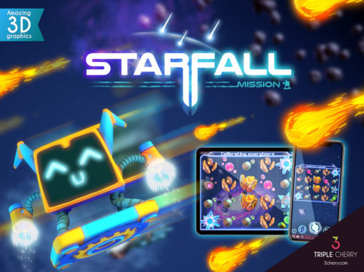 Starfall Mission arrives at Triple Cherry