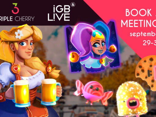 Book a meeting with Triple Cherry at iGB L!VE 2021 !
